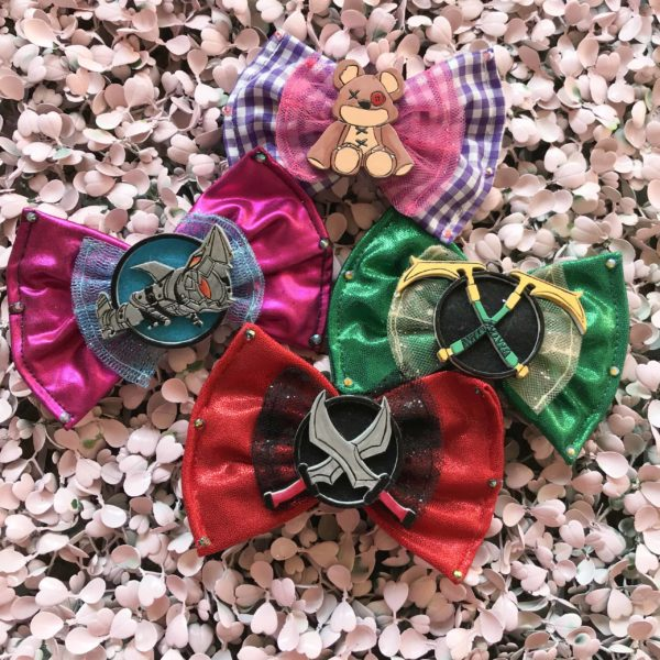 League of Legends Hair Bows