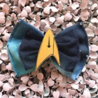 Star Trek Hair Bow