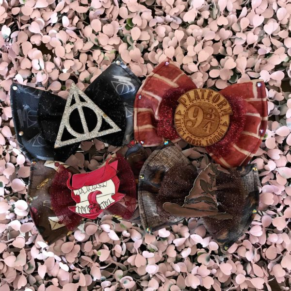 Harry Potter Hair Bows