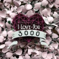 I Love You 3000 Brooch