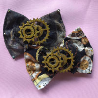 Steampunk Hair Bow