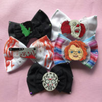 Horror Hair Bows