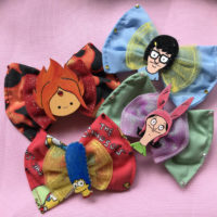 Cartoon Hair Bows