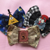 Gravity Falls Hair Bows