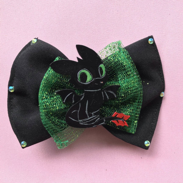 Toothless Hair Bow