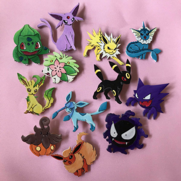 Various Pokemon Pins