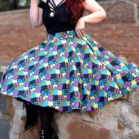 Sally Tea Length Skirt
