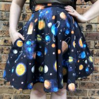 Space Lover Skater Skirt