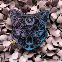Mystic Kitty Brooch