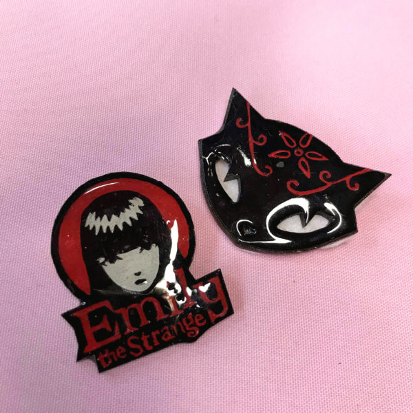 Emily the Strange Brooches
