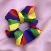 Rainbow Flag Scrunchie