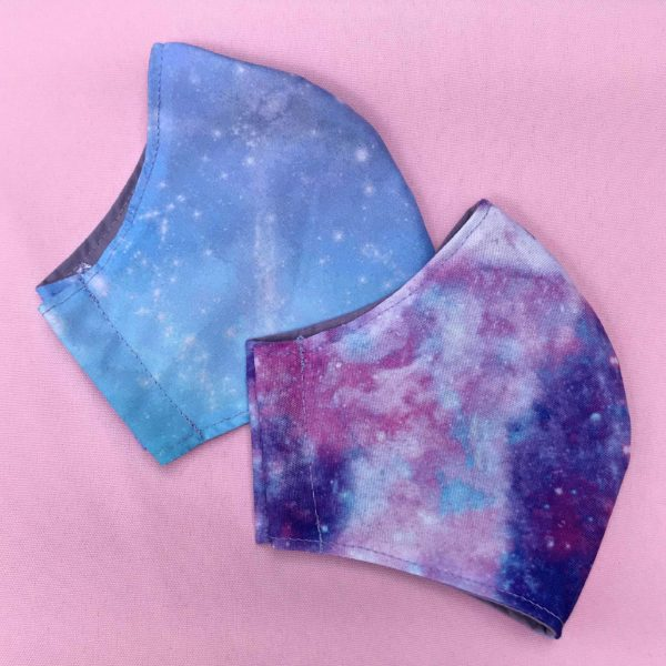 Pastel Galaxy Masks