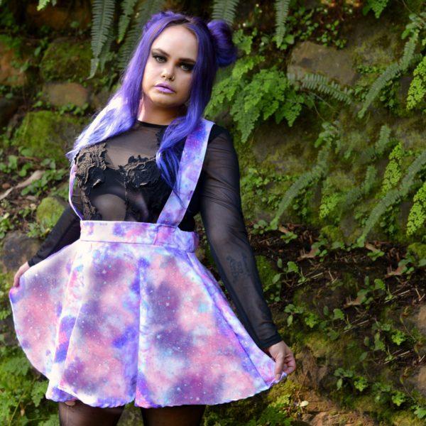 Pastel Galaxy Skirt