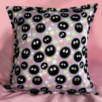 Soot Sprite Cushion Cover