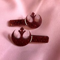 Rebels Alliance Hair Clips